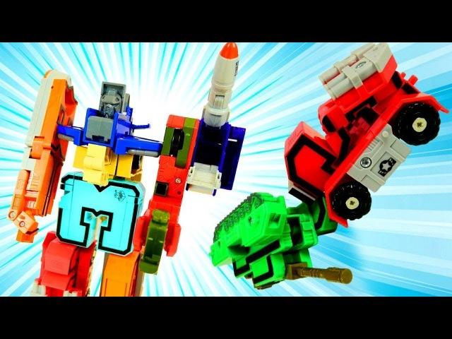 Giochi educativi per bambini- Impariamo i numeri in italiano- Giochi con giocattoli Transbots
