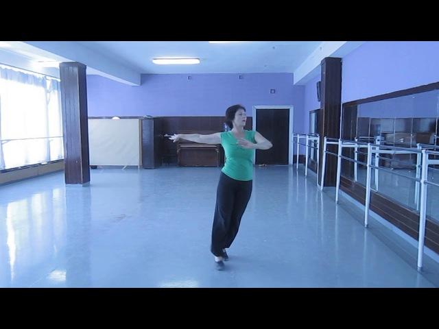 урок Крымскотатарского танца ДЖЕМИЛЕ ОСМАНОВА Эмир Джелял ве хайтарма