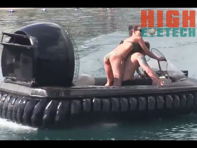 The Coolest Amphibious Vehicle Can Fly Over Water