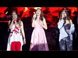 Sarah Geronimo, Yeng Constantino and Kyla - Where Are You Christmas Faith Hill OFFCAM 18Dec16
