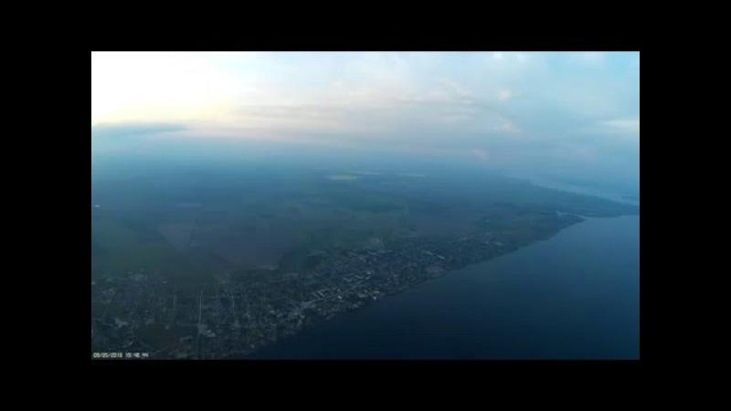 Полет Новая Каховка - Берислав - Таврийск - НК 9.05.2016