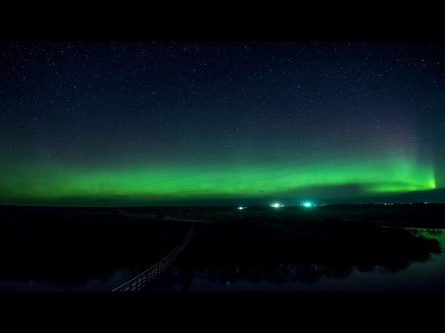 Северное сияние 19.10. 17 с Верхняя Тойма Архангельская обл.