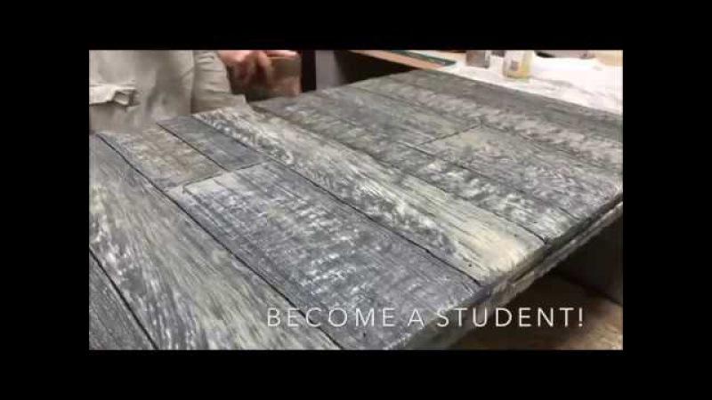 Имитация доски из бетона Wood Concrete » Freewka.com - Смотреть онлайн в хорощем качестве