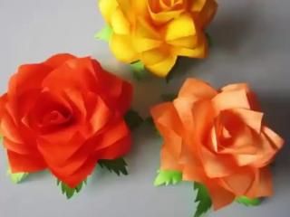 Шикарные цветы: быстро, легко и очень красиво!