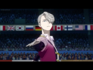 Yuri on ice AMV - Can you feel the music