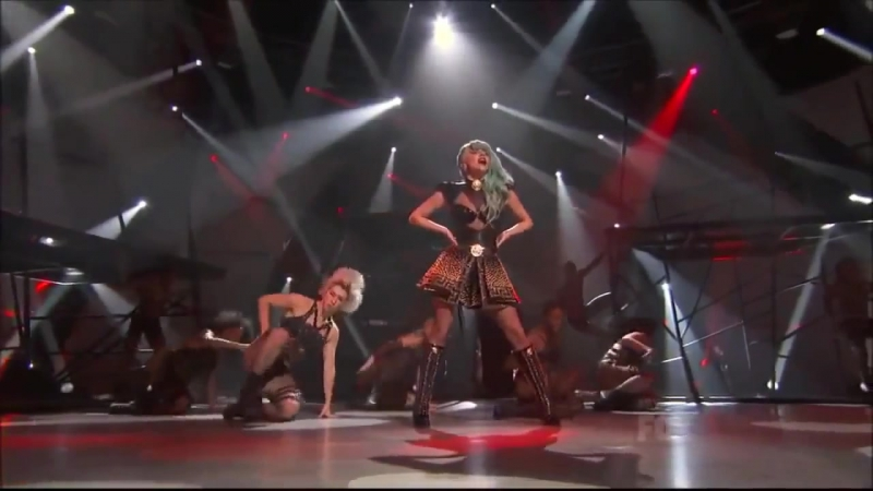 Lady Gaga - The Edge Of Glory You and I (Live on So You Think You Can Dance)