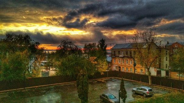 Пасмурный вечер Фото: Дмитрий Жиганов