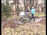 Парк 30-летия Октября- вандализм.