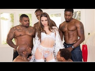 Julesjordan – riley reid interracial gangbang! no holes barred! where will all those big black cocks go?