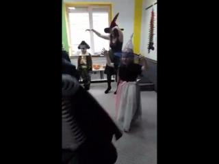 Хэллоуин в ПРО-Школе- открытый урок английского языка, дети 6-7 лет.