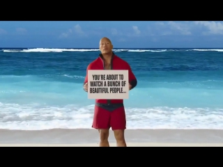Baywatch - Shower Movie Clip + Trailer - Dwayne Johnson , Zac Efron - Action Comedy Movie