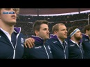 Scottish national anthem, France v Scotland, 07th Feb 2015