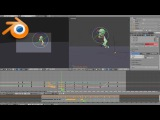 Blender Tutorial: Animating with Onion Skin and Motion Path