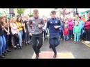 Fusion Fighters 'Irish dance street crew' at the Fleadh Cheoi Ennis