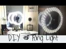 DIY Ring Light Tutorial     Diva Light    Do it yourself