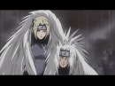 Jiraiya, Orochimaru Tsunade vs Hanzo The Salamander - Konoha Sannins During The 3rd Great War!