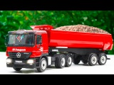 Red Truck with Cars &amp Trucks in the City Adventures All Episodes  Car Cartoon for Kids