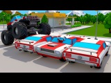Color SUV Transportation &amp 3D Animation Cars Cartoon for Kids and Toddlers Cars Team Cartoons