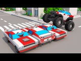 Color SUV Transportation &amp 3D Animation Cars Cartoon for Kids and Toddlers Cars &amp Trucks Stories