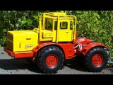 Car Cartoon - Tractor Agricultural Machinery Excavator Construction Trucks For Kids - Children Video