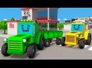 Traktorek Animacja dla Dzieci Tractor Traktory Bajki dla dzieci Tractor For Children