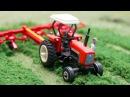 Traktor Animacje Czerwony Traktorek Praca Bajki Dla Dzieci Fairy tractors for Kids