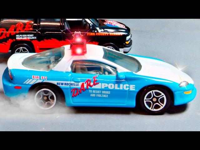 Die Polizeiautos und die Krankenwagen - Animation für Kinder - Lehrreicher Zeichentrickfilm