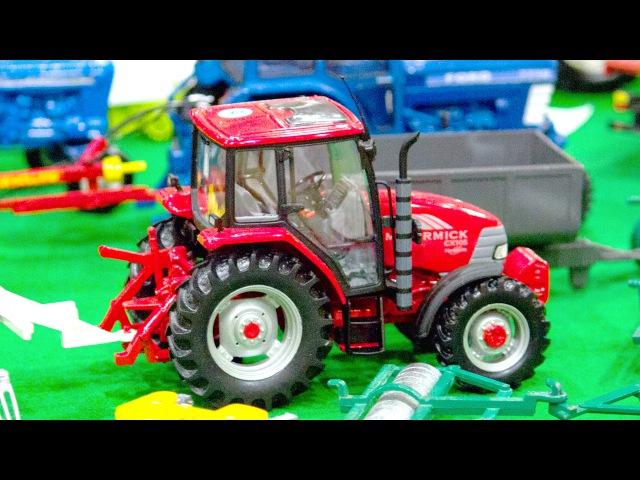 El Tractor. MAQUINAS DE CONSTRUCCION infantiles. Videos de Carros