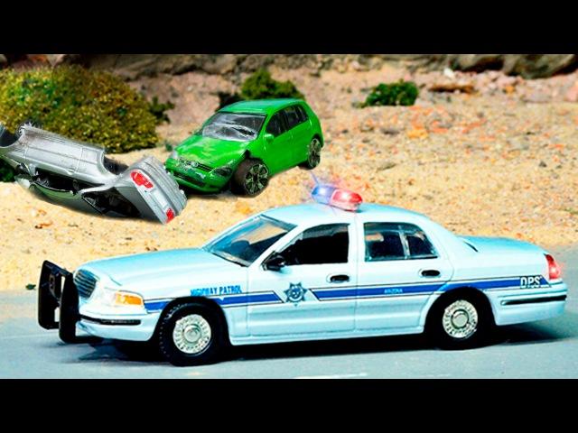 Die Polizeiautos und die Krankenwagen | Animation für Kinder | Kinderfilme Deutsch