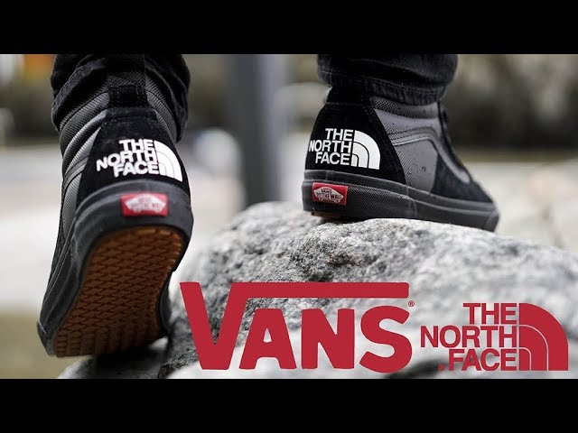 The North Face x VANS Review Unboxing On Feet | Old Skool SK8 Hi