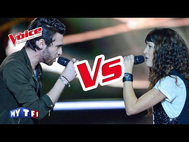 Indila Dernière Danse Sam VS Lukas K Abdoul The Voice France 2016 Battle