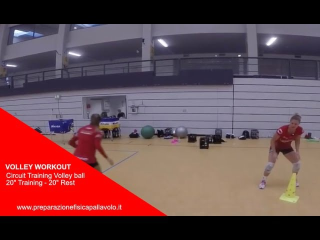 Circuit Training Volleyball 20 Training 20 Rest