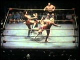 Wahoo McDaniel and Bill Watts vs Superstar Graham and Ernie Ladd