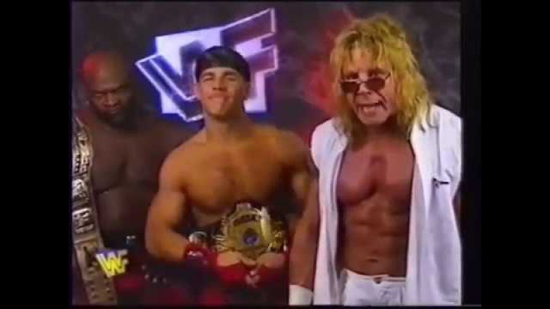 Ultimate Warrior/Shawn Michaels/Ahmed Johnson Promo (06-29-1996)