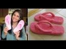 Transforme seu chinelo velho em slippers by Customização Cia