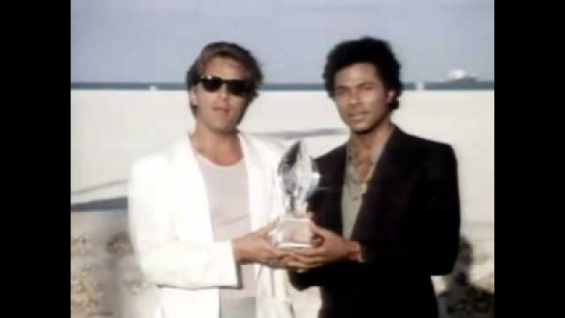 Don Johnson: People's Choice for Favorite New Television Dramatic Program is...Miami Vice!