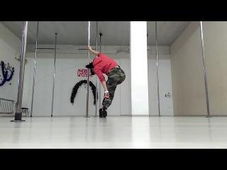 Exotic training. Svetlana Yurchak