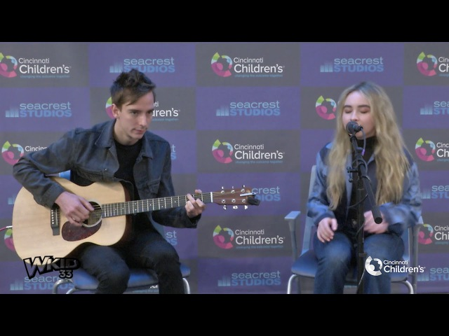 Sabrina Carpenter Performs Her Newest Song Why at Cincinnati Children's Hospital