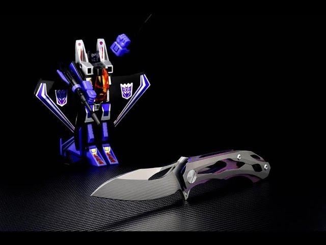 Custom Knife Factory Decepticon 2: Slimmer, sleeker Decepticonier