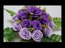 Hướng dẫn làm hoa hồng cỡ nhỏ bằng giấy nhún tuyệt đẹp