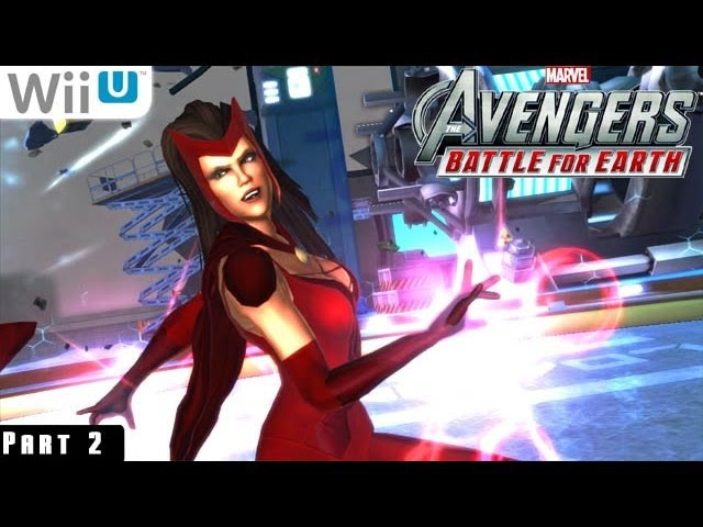 Marvel Avengers Battle for Earth - WiiU Gameplay 1080p part 2 (Baxter Building)