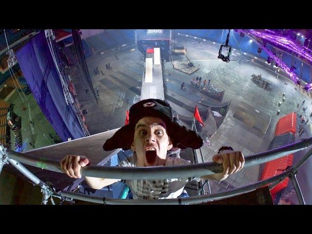 ОБОССАЛСЯ от страха! Зацеп на крыше Олимпийского