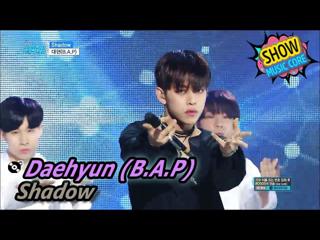 Daehyun - Shadow (Show Music core)