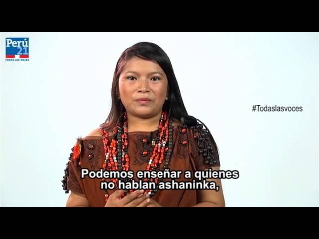 Todas las voces - Yessica Sánchez [Idioma Asháninka]