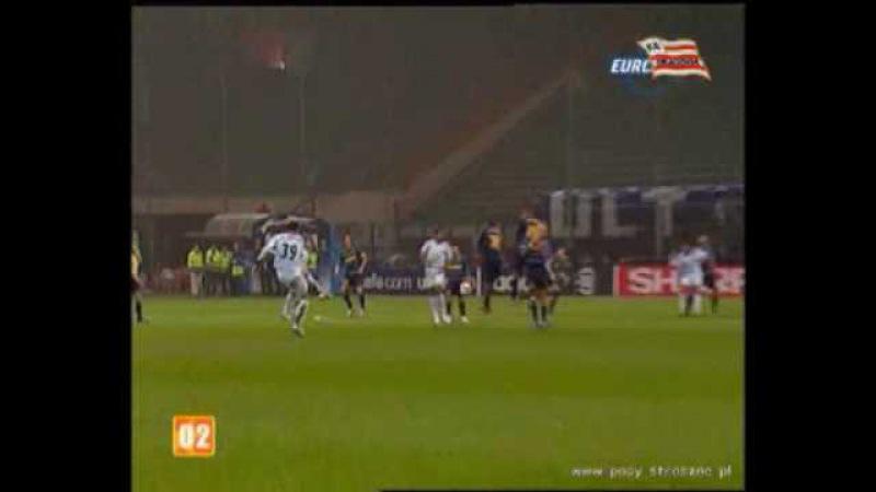 Freekick Almeida CL 2005/06 Inter Milan - FC Porto