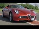 Alfa Romeo 8C Competizione Dipinto in movimento o vera GT Test di Davide Cironi