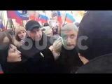 Михаила Касьянова облили зелёнкой на акции памяти Немцова в Москве