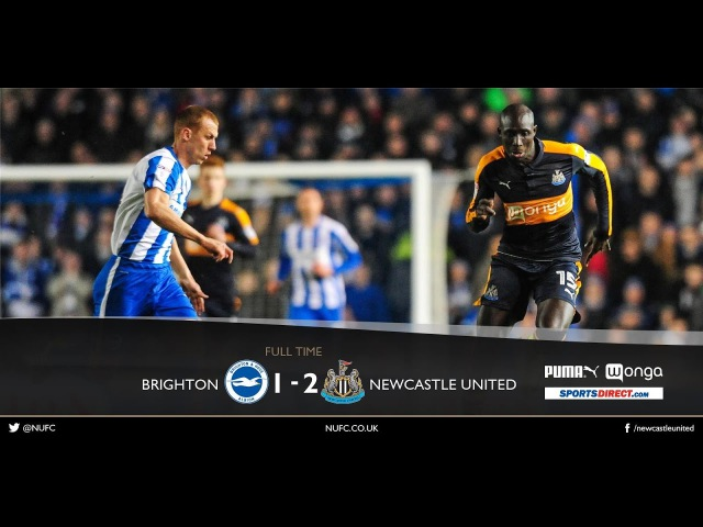 Brighton vs Newcastle United 1 -2 | All Goals Highlights 28/02/2017 Championship