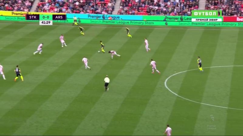 Сток Сити 0 1 Арсенал Гол Жиру
