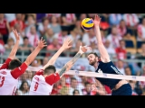 TOP 10 Best Volleyball Spikes by Carson Clark - FIVB Volleyball World League 2017